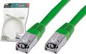 Digitus SF-UTP CAT5e 10m netwerkkabel SF/UTP (S-FTP) Groen