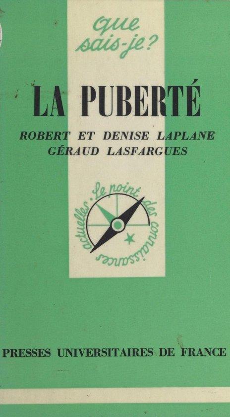 Boek cover La puberté van Denise Laplane