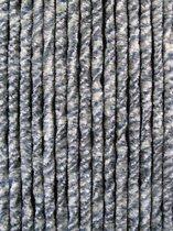 Cortenda Kattenstaart Vliegengordijn - 90 x 220 cm - Blauw/Grijs/Wit