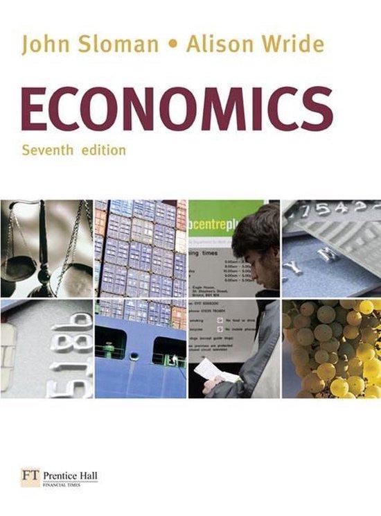 Boek cover Economics with MyEconLab van John Sloman (Onbekend)