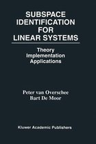 Subspace Identification for Linear Systems