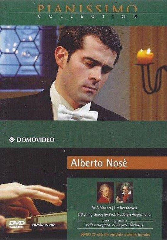 Cover van de film 'Alberto Nose - Pianissimo Collection & Cd'
