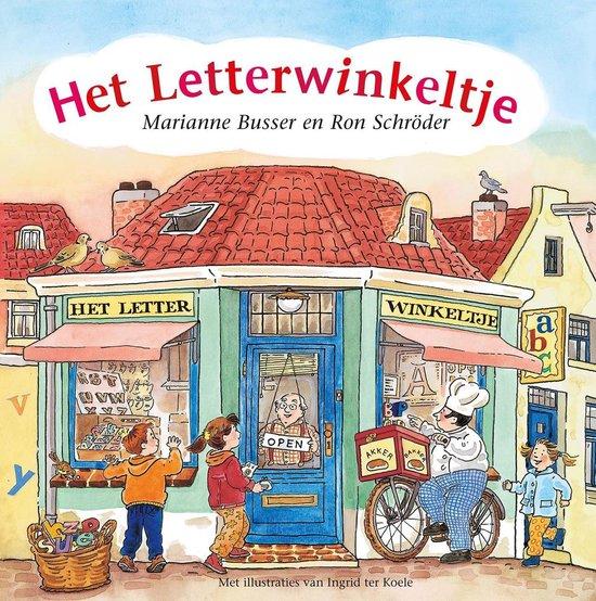 Boek cover Het letterwinkeltje van Marianne Busser (Onbekend)