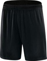 Jako Valencia Voetbalshort met Binnenbroek - Shorts  - zwart - 2XL