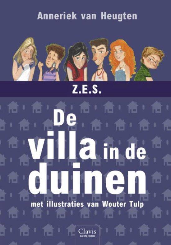 De Z.E.S. 3 - De villa in de duinen - Anneriek van Heugten  