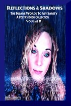 Reflections & Shadows The Insane Words of M Sanity Volume II ( An Empowering & Inspirational Poetry Collection)