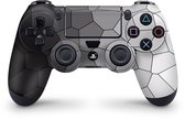 Playstation 4 Controller Skin Cells Zwart Sticker