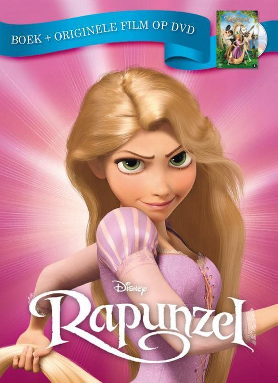 Boek cover Rapunzel van Disney (Hardcover)