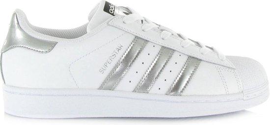 Originele adidas Superstar Sneakers - Maat 40 2/3 - Vrouwen - wit/zilver