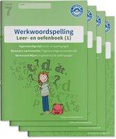 Werkwoordspelling Groep 7 Leer en oefenboek 1 en Antwoordenboek 1, 2 en 3