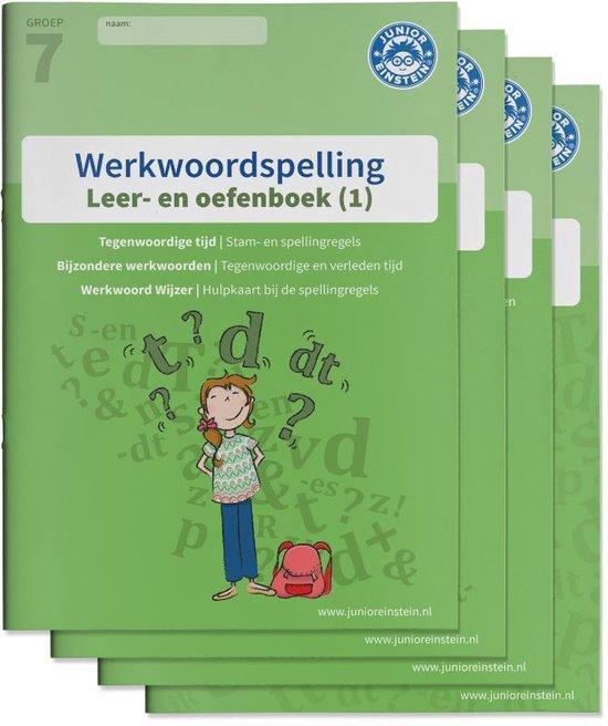 Werkwoordspelling Groep 7 Leer en oefenboek 1,2 en 3 en Antwoordenboek - none |