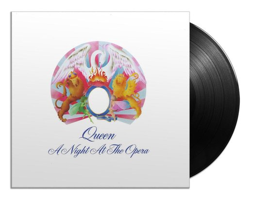 CD cover van Night at the Opera (LP) van Queen