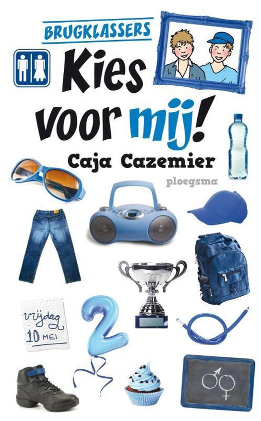 Boek cover Brugklassers - Kies voor mij! van Caja Cazemier (Paperback)