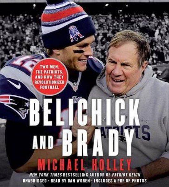 Boek cover Belichick and Brady van Michael Holley (Onbekend)