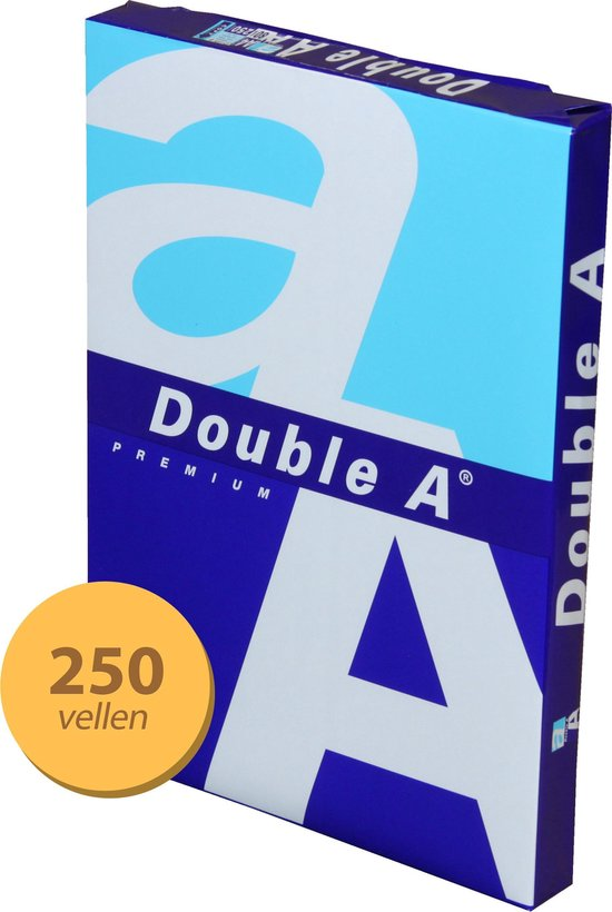Double A - A4-formaat - 250 vel - Papier 80g - Double A