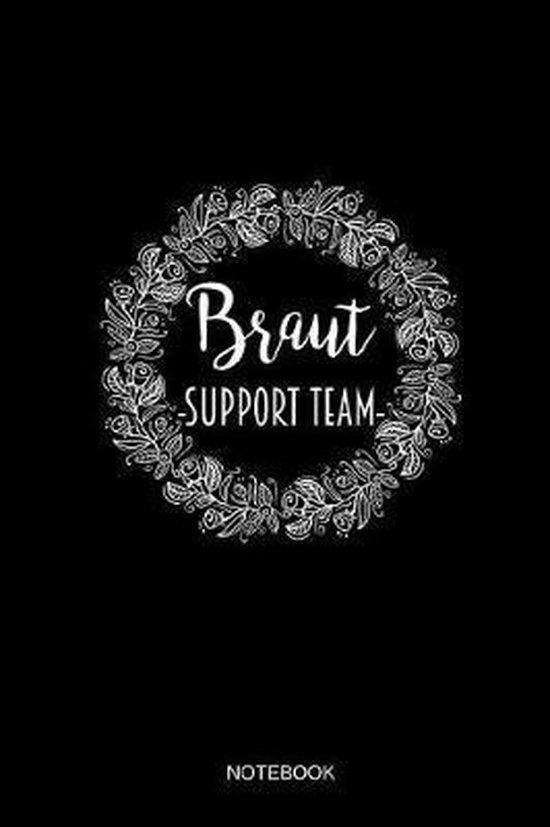Braut Support Team Notizbuch