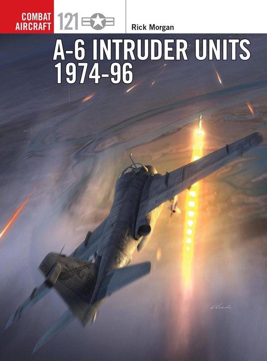 Boek cover A-6 Intruder Units 1974-96 van Rick Morgan (Onbekend)