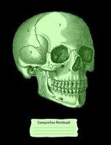 Green Skull Composition Notebook