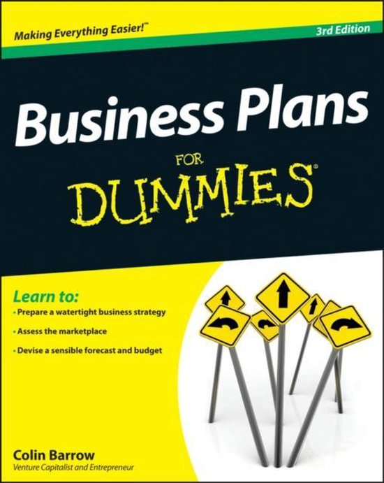 Afbeelding van Business Plans For Dummies