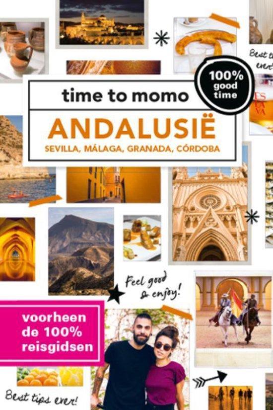 Boek cover Time to momo  -   Andalusie van Anja Siderius (Paperback)