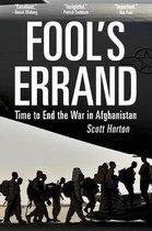Boek cover Fools Errand van Scott Horton (Paperback)
