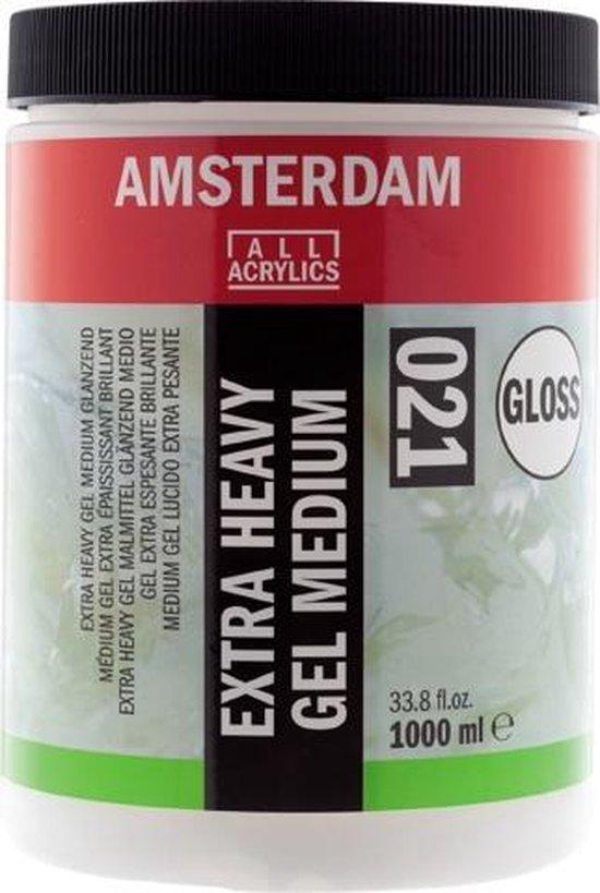 Amsterdam 021 Extra Heavy Gel Medium gloss flacon 1000ml