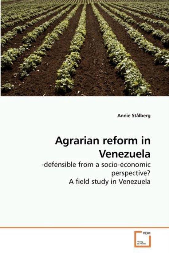 Agrarian Reform in Venezuela