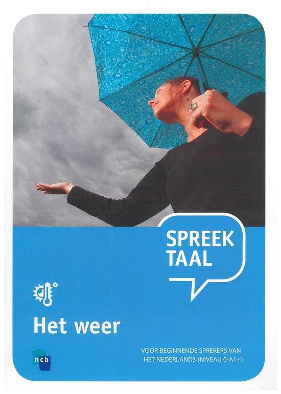 Boek cover Spreektaal 1 Het weer van Martijn Baalman (Onbekend)