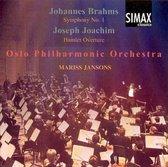 Brahms: Symphony no 1; Joachim: Hamlet Overture / Jansons, Oslo PO