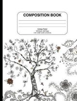 Composition Notebook with Doodle Cover