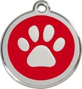 Red Dingo Hondenpenning 20 mm