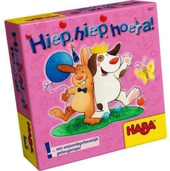 Afbeelding van het spel Supermini Spel - Hiep, hiep, hoera! (Nederlands) = Duits 4963 - Frans 5954