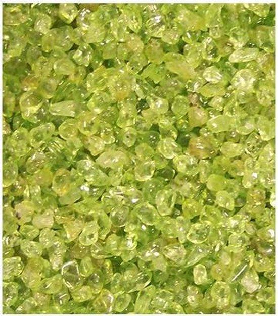 Trommelstenen Peridoot (0-5 mm) - 10 gram