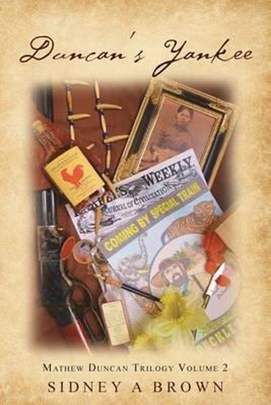 Boek cover Duncans Yankee van Sidney a Brown (Paperback)