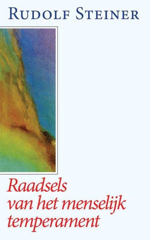 Raadsels van het menselijk temperament - Rudolf Steiner |