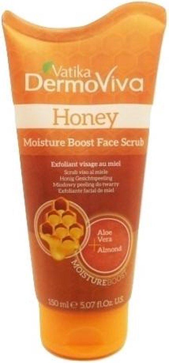 Vatika Dermoviva Honey Moisture Boost Face Scrub - 150 ml - Vatika