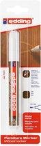 Edding 8900 meubelmarker, 1.5-2mm ronde punt, teak, per stuk in blisterverpakking