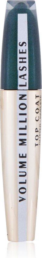 L'Oréal Volume Million Lashes Glitter Topcoat Mascara - Green