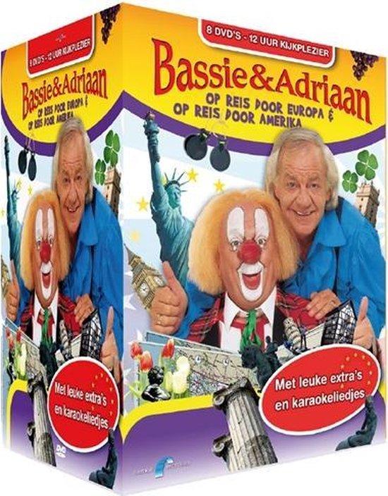 Cover van de film 'Bassie & Adriaan - Complete Op Reis Box: Op Reis Door Europa & Op Reis Door Amerika'