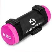 #DoYourFitness® - Core Bag / Gewicht Bag »Carolous« van 5 kg tot 30 kg - 2 handgrepen en 1 riem - Kracht / fitness bag voor kracht-, uithoudings-, gevechts- en coördinatietraining 8kg