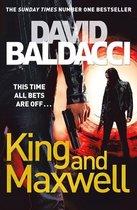 Boekomslag van 'King and Maxwell'