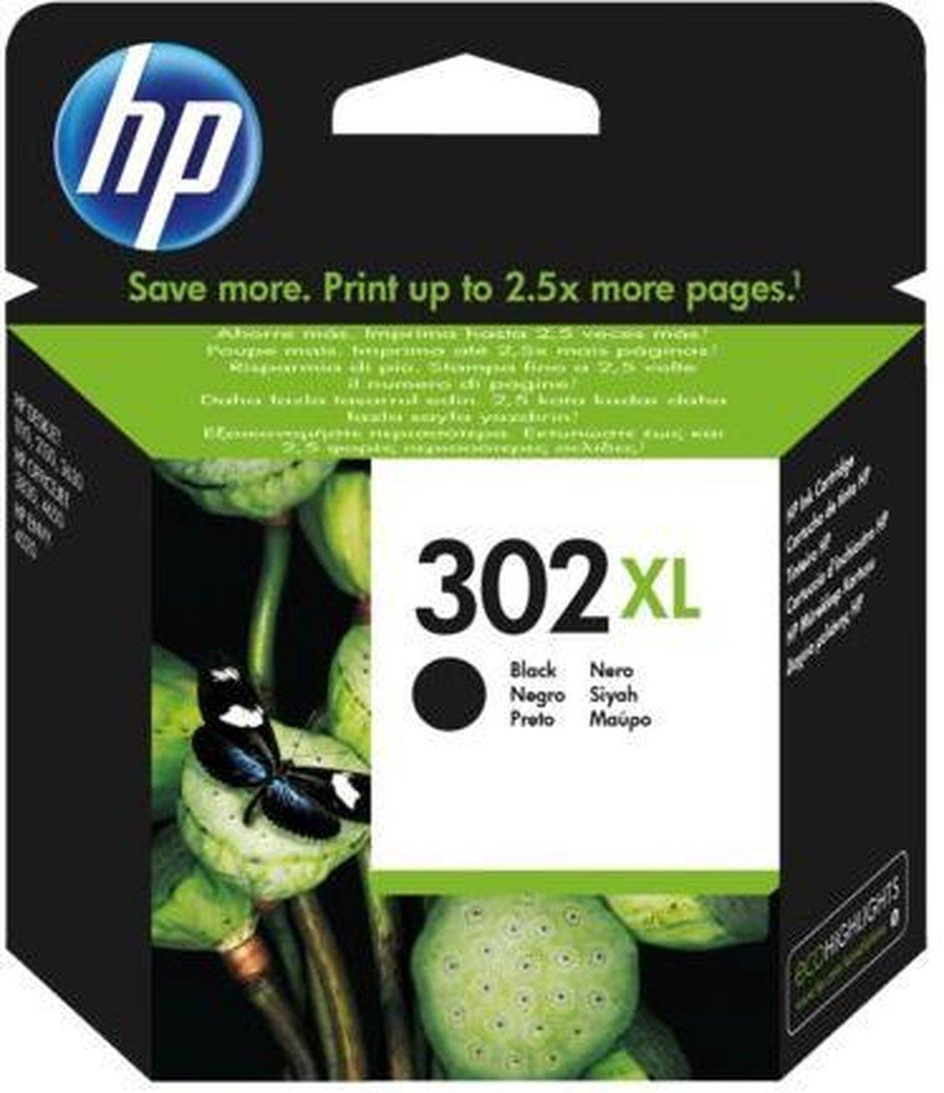 HP 302XL - Inktcartridge / Zwart