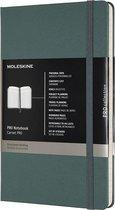 Moleskine Professional Notitieboek- Large Hard Forest Green