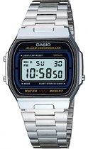 Casio CASIO Collection A164WA-1VES Horloge - Staal - Zilverkleurig - Ø 35 mm