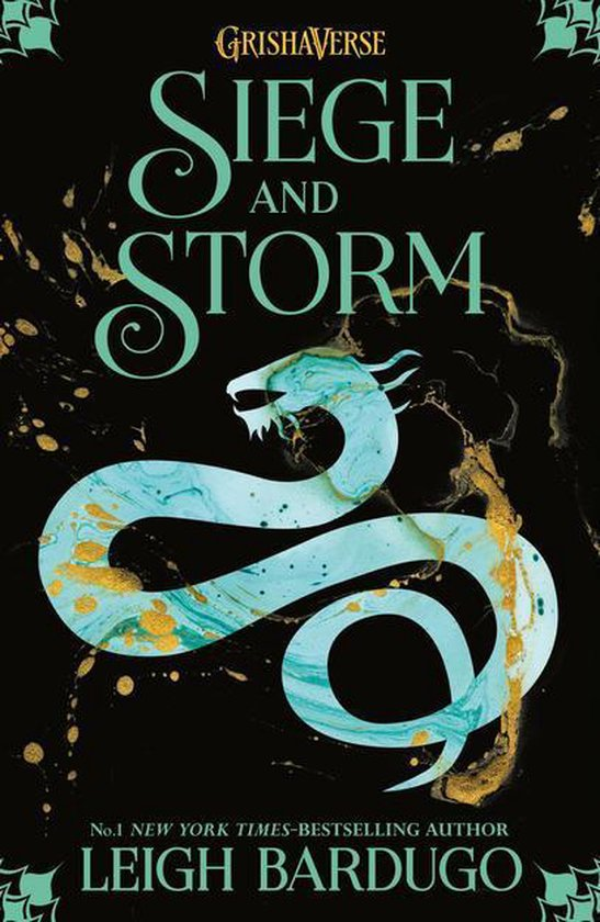 Boek cover Shadow and Bone: Siege and Storm van Leigh Bardugo (Onbekend)