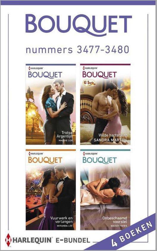 Bouquet e-bundel nummers 3477-3480, 4-in-1 - Maggie Cox |