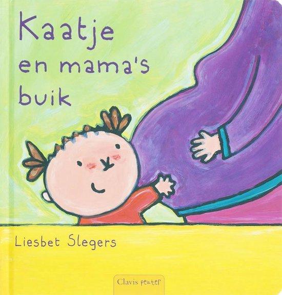 Boek cover Peuterlijn  -   Kaatje en mamas buik van Liesbet Slegers (Hardcover)