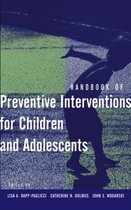 Omslag Handbook of Preventive Interventions for Children and Adolescents
