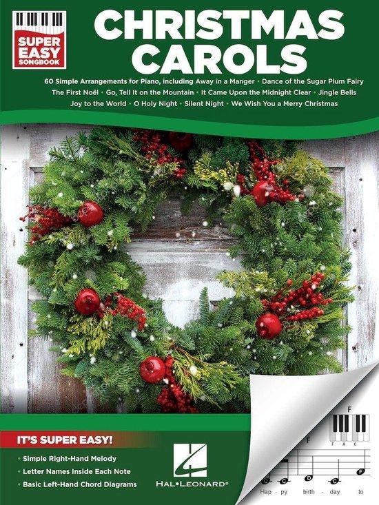 Afbeelding van Christmas Carols - Super Easy Songbook