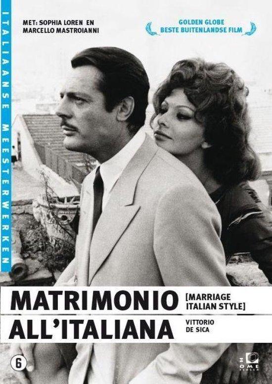 Cover van de film 'Matrimonio All'Italia'